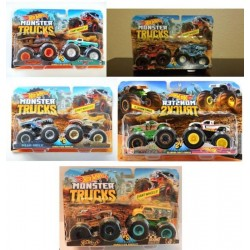 PACK DOBLE MONSTER TRUCKS HOT
