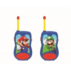 WALKIE-TALKIE SUPER MARIO 100