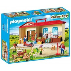 GRANJA MALETIN PLAYMOBIL COUNT