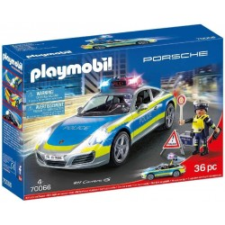 COCHE POLICIA PLAYMOBIL PORSCH