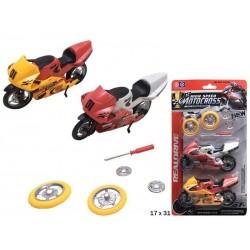 Blister 2 motos con recambios
