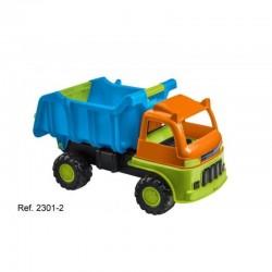Camion dumper colores 66cm.