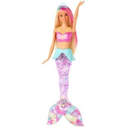 BARBIE SIRENA DREAMTOPIA ConLUCES