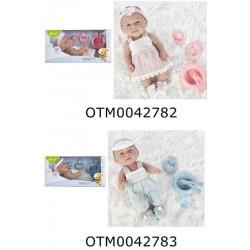 MUÑECO NEW BORN BABY DELUXE 30 CM.