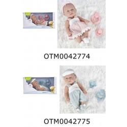 MUÑECO NEW BORN BABY 25 CM.