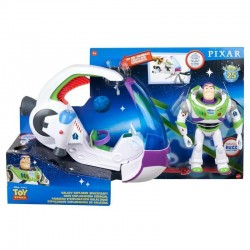 BUZZ LIGHTYEAR LUMINOSO CON NAVE ESPACIAL