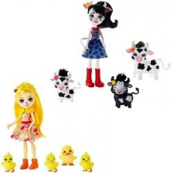 Muñeca con mascotas enchantimals