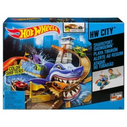 PISTA SUPERTIBURON HOT WHEELS CITY