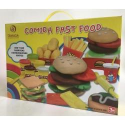 COMIDA FAST FOOD PLASTILINA
