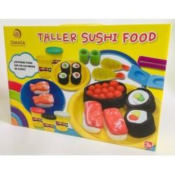TALLER SHUSHI FOOD PLASTILINA