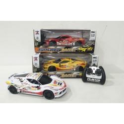 COCHE SPORT RACER Radio Control 1:16 BAT+CARG