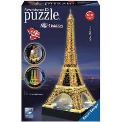 PUZZLE 3D TORRE EIFFEL 216 PZAS.LUZ