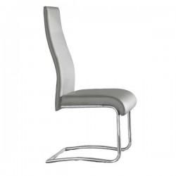 Pack 4 Silla de diseño Mod. Roma grises