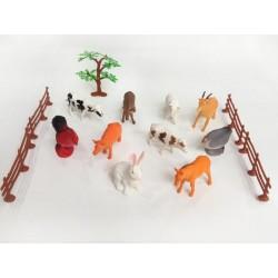 BOLSA 10 ANIMALES GRANJA...
