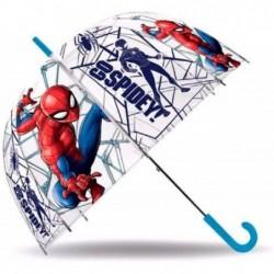Paraguas burbuja spider-man...