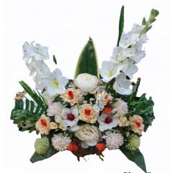 Composición floral para...
