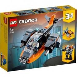 CIBERDRON LEGO CREATOR 3 EN 1