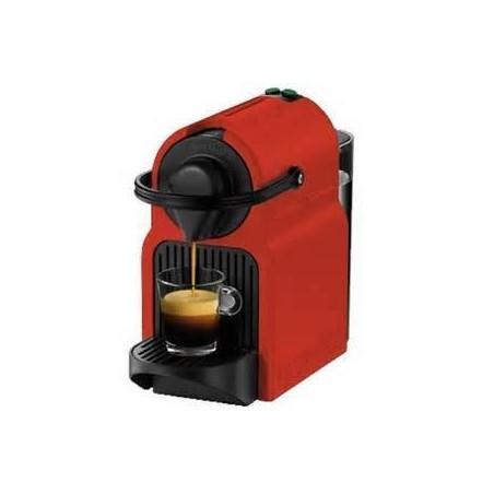 Cafetera Nespresso INISSIA Roja con 40 capsulas.