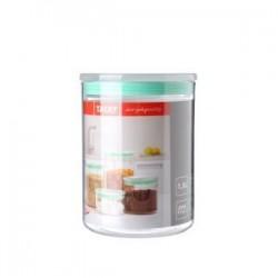 Bote cocina 1,5 l. transparente verde