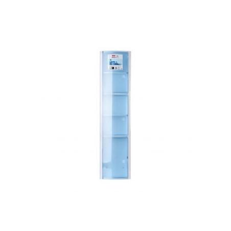 Armario baño vertical azul