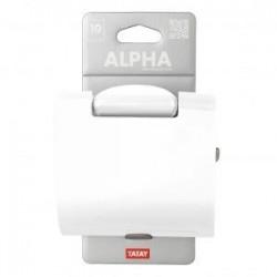 Portarrollos Alpha Blanco.