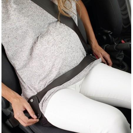 Cinturon de seguridad para embarazadas.
