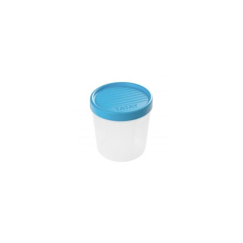 Taper con rosca 1 l. azul