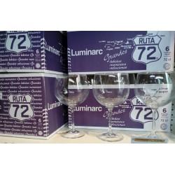 Copa Ruta 72 cl. Luminarc