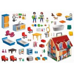 Casa muñecas maletín Playmobil