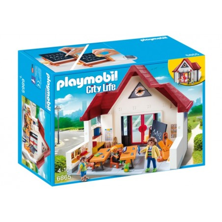 Colegio City Life Playmobil.