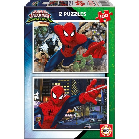 2X100 ULTIMATE SPIDER-MAN VS THE SINISTER 6