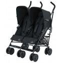 Silla de paseo gemelar - Simba Twin T4 - negro