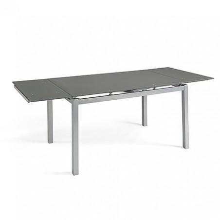 Mesa extensible ELENA gris.