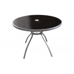 Mesa redonda aluminio