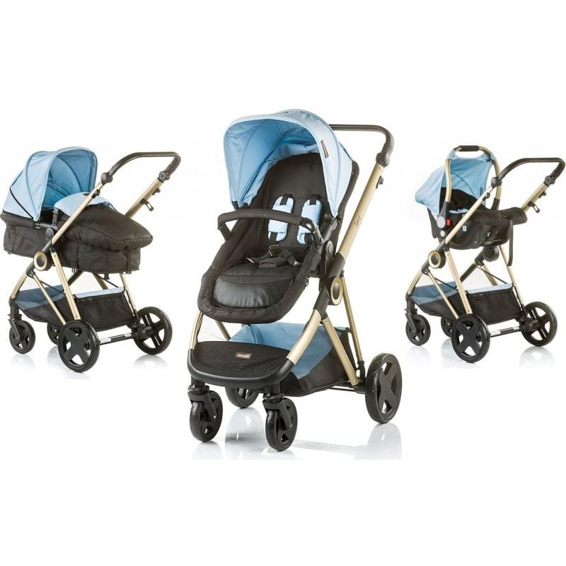 Carrito Bebés SENSI CONVERTIBLE BLUE MIST
