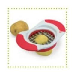 Cortador de manzanas y patatas.