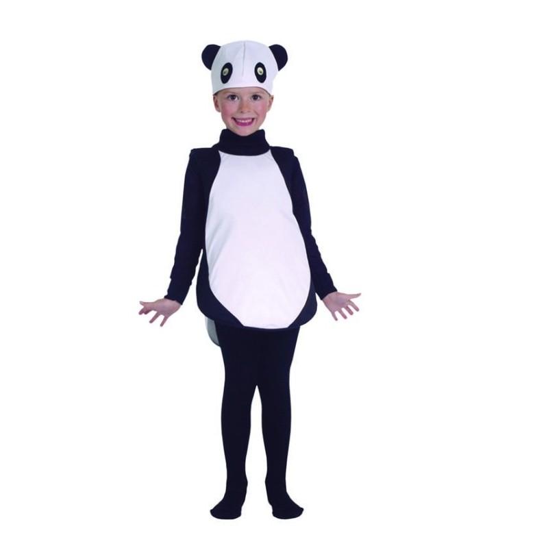 Disfraz niña PANDA Josman Talla 1