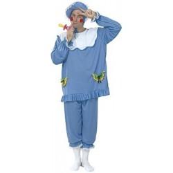 Disfraz  Bebe Azul Adulto.