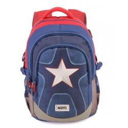 CAPITAN AMERICA MULTICOLOR MOCHILA RUNNING HS SUIT