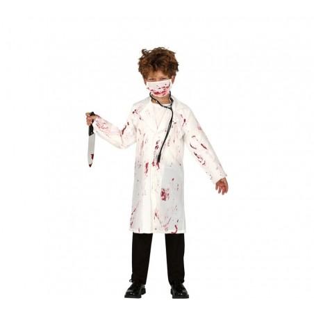 Disfraz de Doctor Zombi de 7 a 9 años