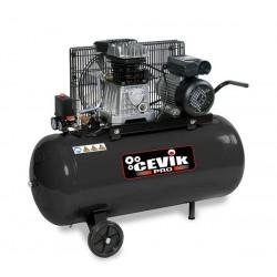 Compresor 2 HP 100 litros correas CEVIK